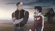 47. Shiro and Keith after rescue
