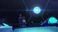S5E05.41. Matt and Pidge watch their Dad enter the wormhole
