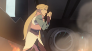 S7E02.269. Romelle yells for Allura to open Blue's mouth