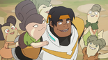 33. Hunk and his Arusian fans