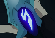 S2E06.0. Blade of Marmora symbol from Keith's knife
