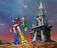 Voltron Force Voltron & Castle of Lions