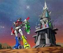 Voltron Force Voltron & Castle of Lions.jpg