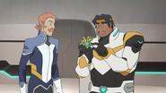 3. Hunk and Coran talk food