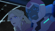S7E02.149. Some of these ships look like they belong to Lotor's fleet