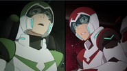 S2E13.86. Pidge and Keith's OMGWTF faces
