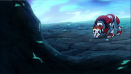 S2E08.56. Red letting Keith and Shiro out onto BoM asteroid