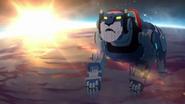 Blue Lion in Earth orbit