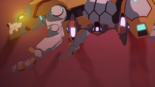 S3E03.232. Lotor flies under Yellow's belly