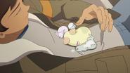 S6E02.180. Whelp the mice fell asleep on him