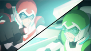 116. Keith and Pidge struggle to hold their ground