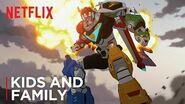 Voltron Legendary Defender Official Trailer HD Netflix