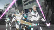 S7E09.54. Team Voltron is ambushed by Galra drone balls