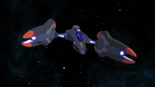 S3E03.114. Lotor's fighter bow view