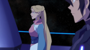S6E04.112. We have lived there since the war with Zarkon began