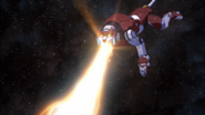 S6E06.176. Red uses plasma fire and it's not too effective