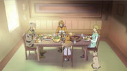 18. Holt family at their last meal together