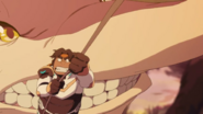 S7E01.272. And Hunk narrowly avoids the chompers of death