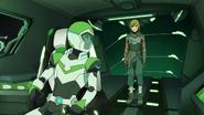 S5E01.265. Pidge and Matt inside Green lion cockpit