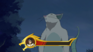 S6E03.123. And Shiro's health bar is going to zero