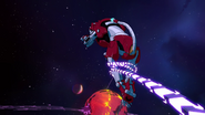 267. Red Lion snared by Zarkon's chain whip