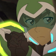 Pidge Waiting for an Opportunity