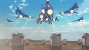 S7E08.39. Garrison blasters fire on Galra cruisers