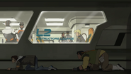 20. Lance and Hunk sneak past commissary
