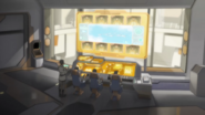 S7E01.117. Shiro and staff in training control room