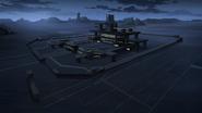 18. Galaxy Garrison training base by night