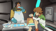 S2E05.107. Hunk's bite isn't as bad as his lions unfortunately