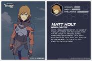 Official stats - Matt Holt