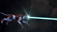 S6E06.104b. Red Lion firing on inter-reality gate 3