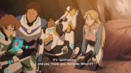 Pidge, Lance, Romelle and Hunk (S7E1)