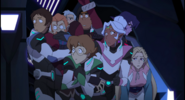 The Heroes look Keith