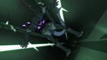 S4E01.25. Blade sliding down a shaft somewheres