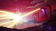 S3E07.235. Voltron shielding against darkwalker's weapon