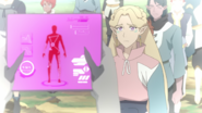S6E04.157. Romelle being assessed by Lotor's crew