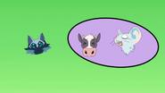 S7E02.44. And the cow can't be in the same area as the mice