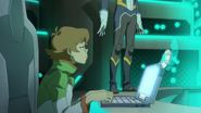 S3E01.121. Pidge refrains from speaking her mind