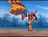 Ep.35.143 - Golion gives Death Builder the boot