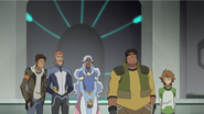 S3E01.297. Rest of team Voltron waiting for Keith to make a move