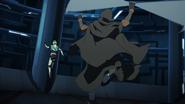 S4E02.280. Pidge runs up a wall to get away