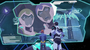 S3E06.213. There's a piece of the teldav inside the Galra base