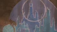 S5E05.244d. Ancient Altean mosaic depicting compass stone map 5