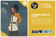 VLD Twitter - Nadia Rizavi stats