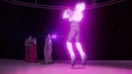 45. Haggar lifts Allura with her magic