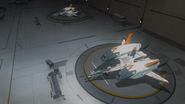 S7E08.67. MFE-Ares fighters in their hangar