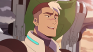 222. Shiro smiling after first Voltron battle
