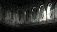 S4E03.87. Castle of Lions hallway detail